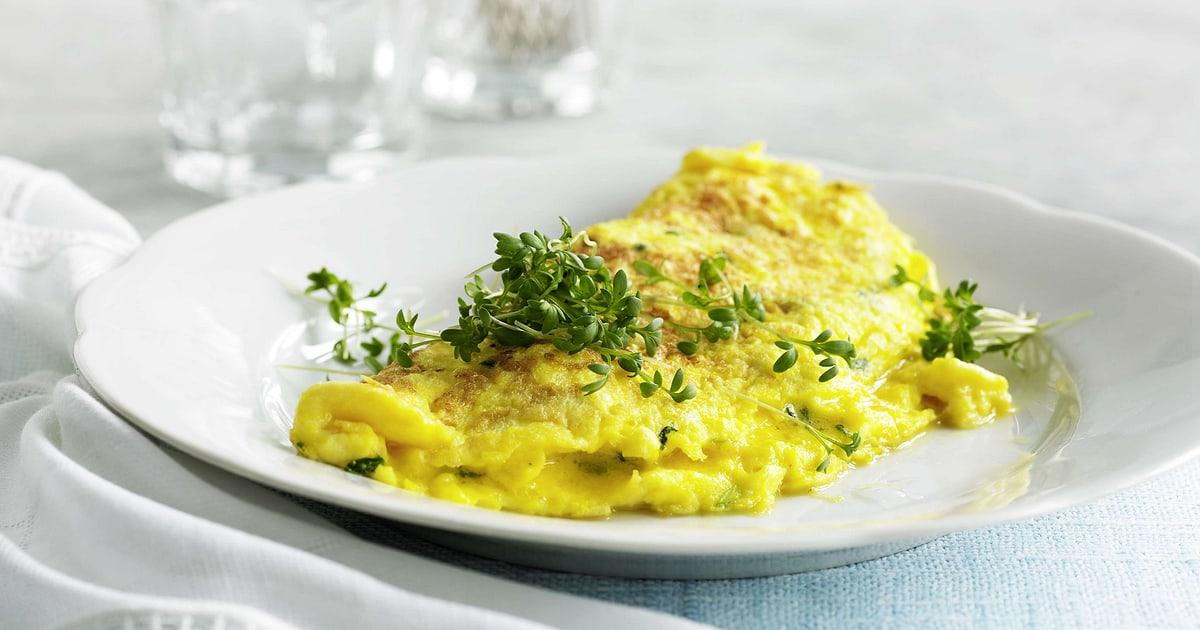 Ricetta Omelette In Francese.Omelette Francese Migusto